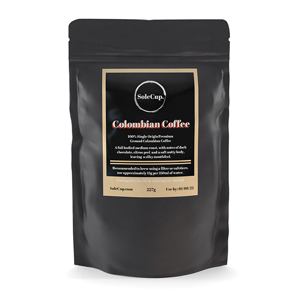 SoleCup Ground Colombian Coffee