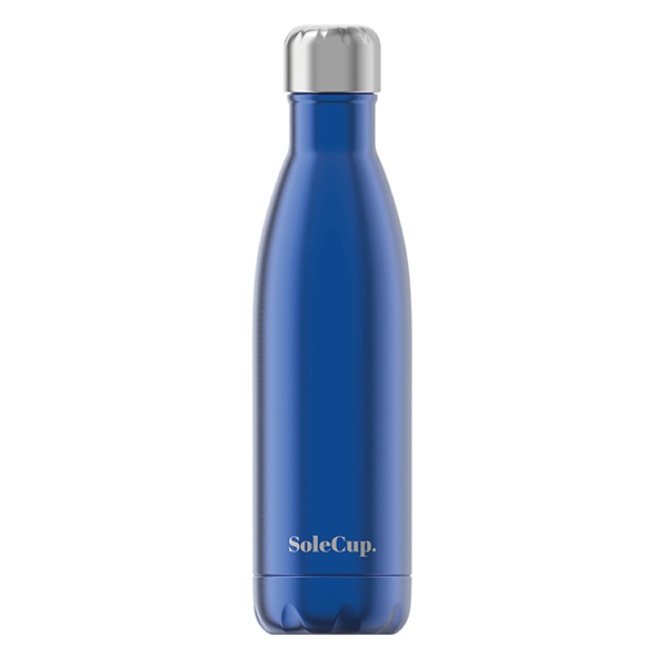 SoleCup - Water Bottle - Electric Blue