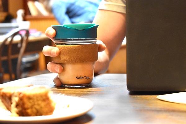 Blue Cork Travel Mug