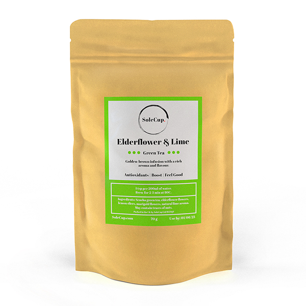 SoleCup Elderflower and Lime Loose Tea
