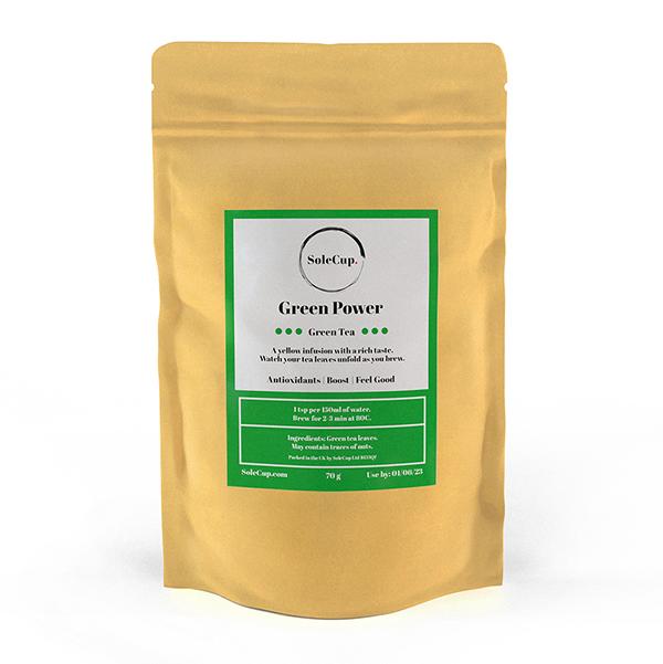 SoleCup Green Power Loose Tea