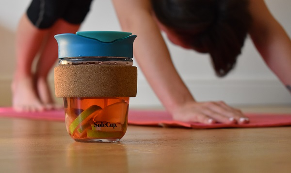 Reuable Cup with Fruit Infusion