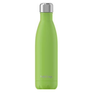 Lime Green Steel Water Bottle