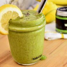 Mango and Matcha Green Tea Smoothie
