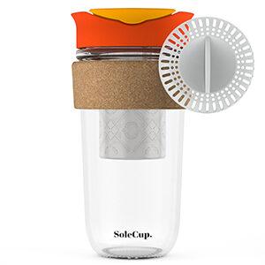 SoleCup Large Red Travel Mug