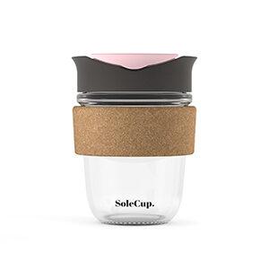 SoleCup Grey and Pink Cork