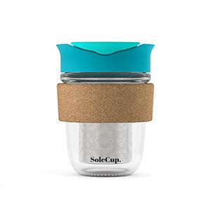 SoleCup Loose Tea - Blue - Cork