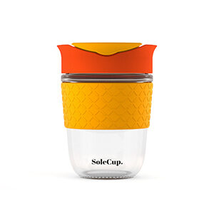 SoleCup Travel Coffee Cup