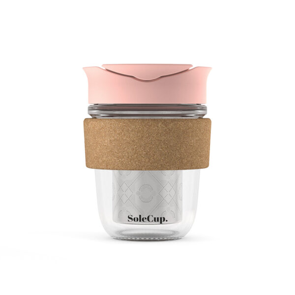 Reusable Cup with Loose Tea Infuser