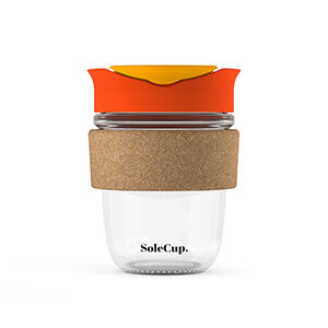 SoleCup Glass Coffee Cup