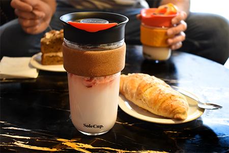 18oz Large Travel Mug - Coffee