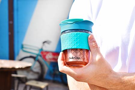 Glass Travel Mug with Infuser